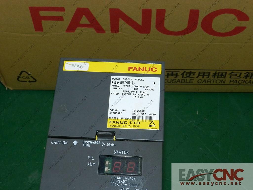 A06B-6077-H111 Fancu power supply module used