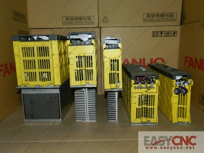 A06B-6079-H105 Fanuc servo amplifier module SVM1-80 used