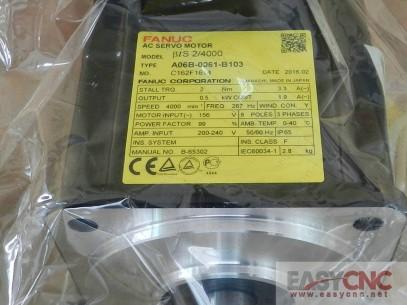 A06B-0061-B103 Fanuc ac servo motor BiS 2/4000 motor new and original