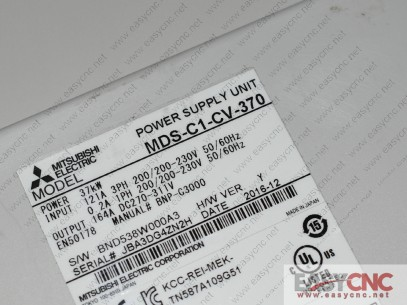 MDS-C1-CV-370 Mitsubishi power supply unit used