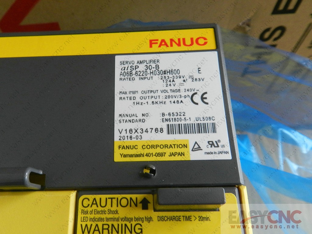 A06B-6220-H030#H600 Fanuc spindle amplifier aiSP30-B new