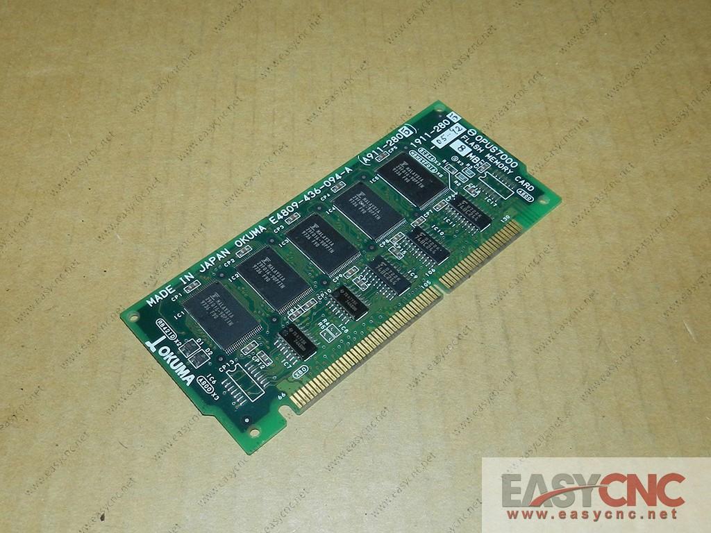 E4809-436-091-A OKUMA PCB OPUS7000 FLASH MEMORY CARD 1911-2805 USED