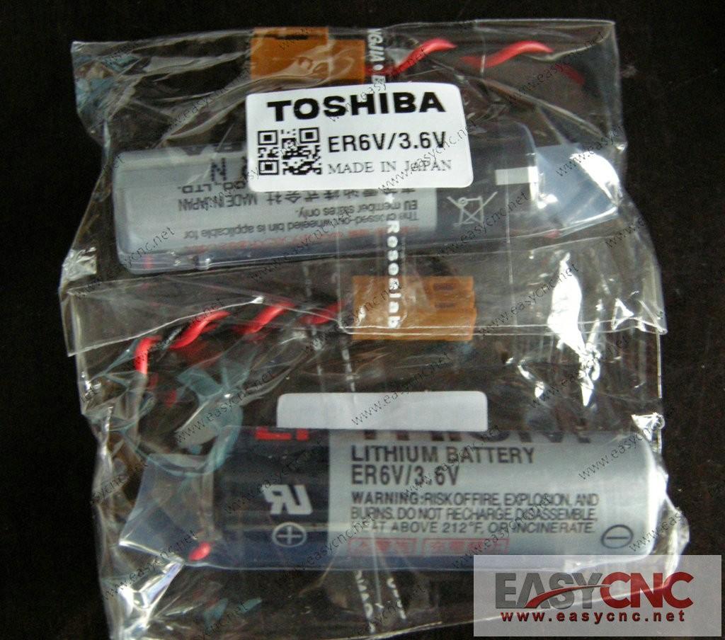ER6V/3.6V Toshiba Lithium Battery Er6Vc119A new