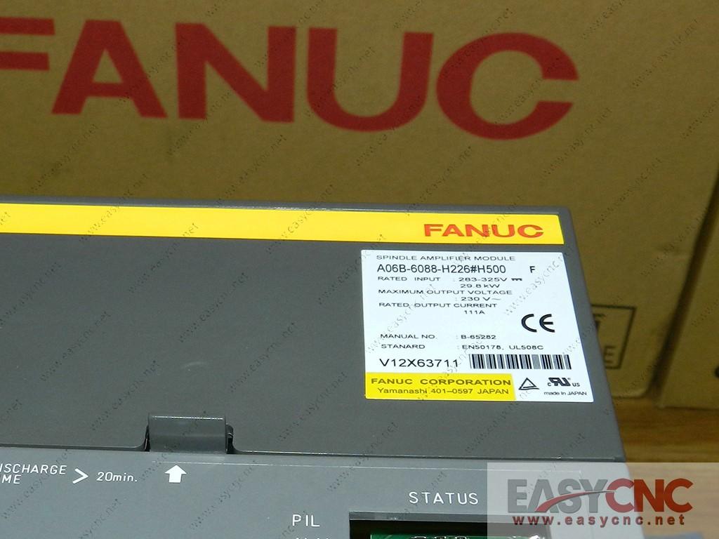 A06B-6088-H226#H500 Fanuc spindle amplifier module SPM-26 new