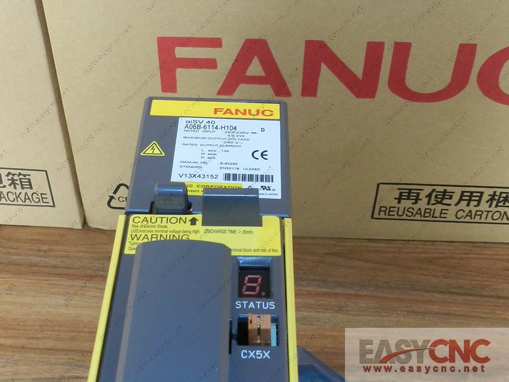 A06B-6114-H104 Fanuc servo amplifier module aiSV40 new