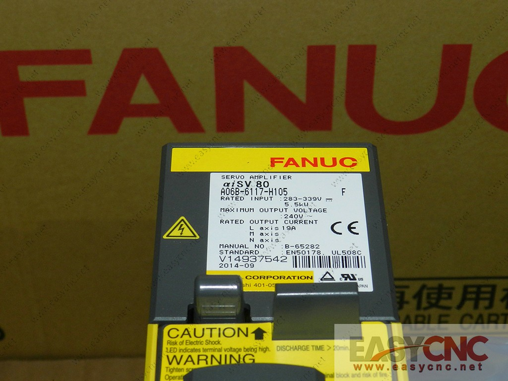 A06B-6117-H105 Fanuc servo amplifier module aiSV80 new