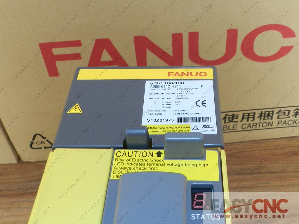A06B-6117-H211 Fanuc servo amplifier module aiSV160/160 new