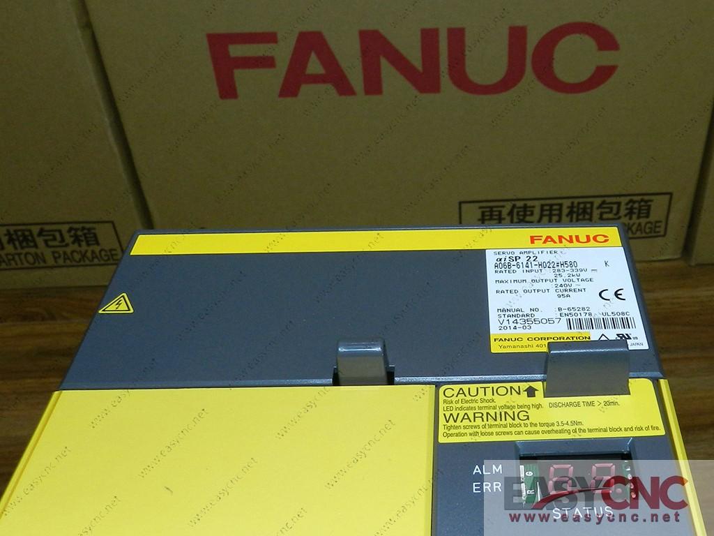 A06B-6141-H022#H580 Fanuc spindle amplifier module aiSP22 new