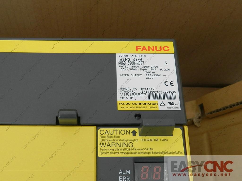 A06B-6200-H037 Fanuc power supply module aiPS 37-B new