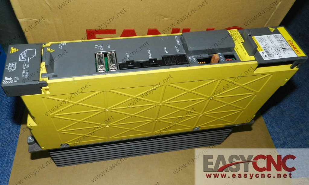 A06B-6240-H105 FANUC SERVO AMPLIFIER αiSV 80