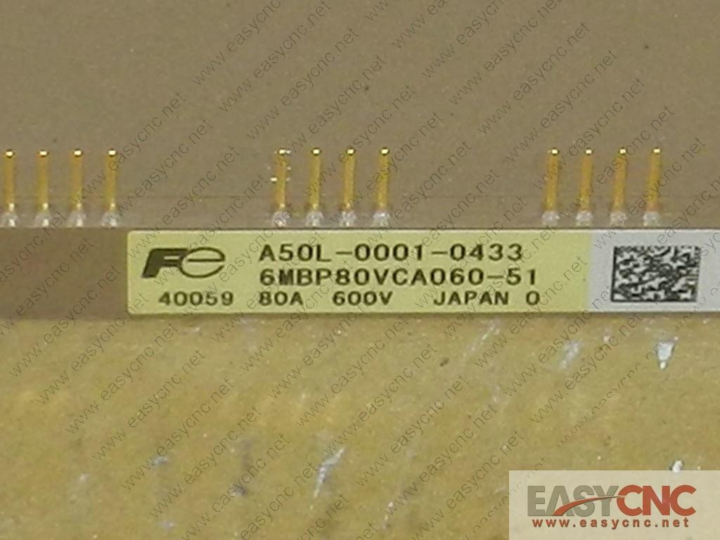 A50L-0001-0433 6MBP80VCA060-51 Fuji IGBT new