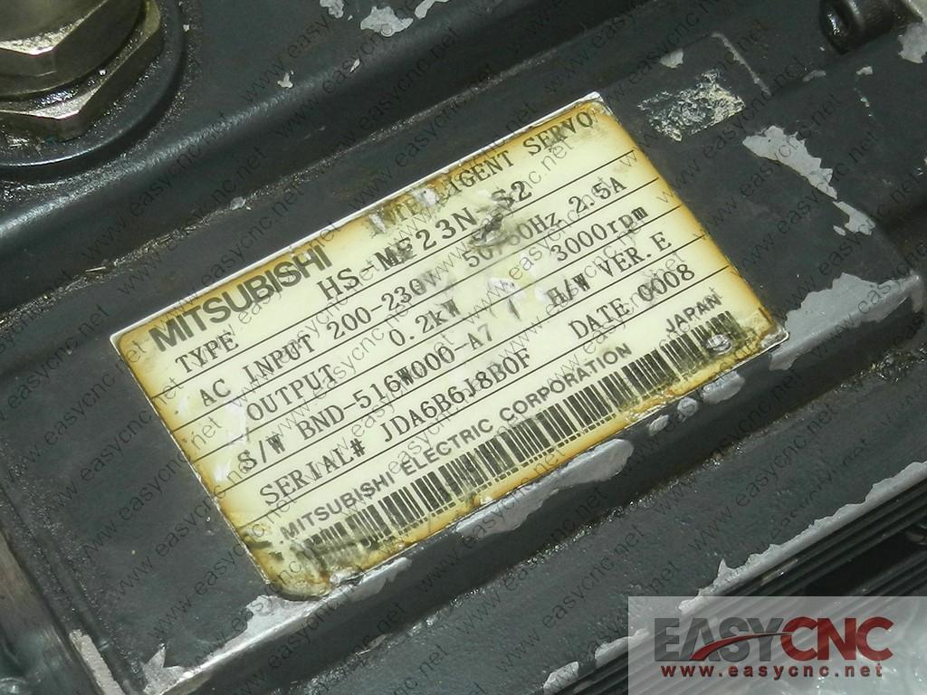 HS-MF23N-S2 Mitsubishi ac servo motor used