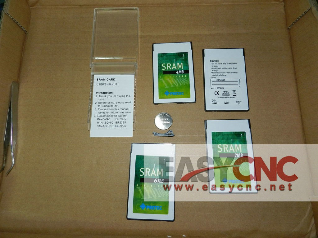 S65006 PCMCIA SRAM PC card 6MB