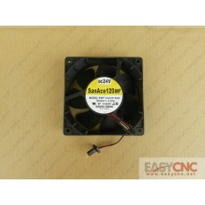 9WF1224H1D03 Sanyo fan with fanuc black connectors 120*120*38mm new and original