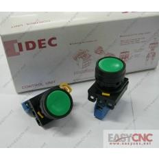 YW1B-M1E10G YW-E10 IDEC control unit switch green new and original