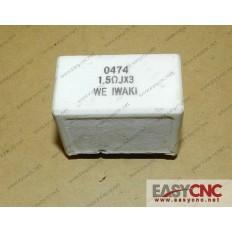 A40L-0001-0474#R015ohmJ*3 Fanuc resistor 0474 1.5mohmJx3 used