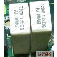 A40L-0001-T20W 1.2KohmG Fanuc resistor T20W 1.2KohmG used